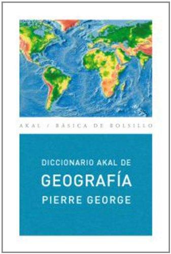 Diccionario de Geografía (Ed. Económica) (Básica de Bolsillo) Tapa blanda – 1 oct 2004 Pierre George Concha Bosch José Estébanez Elisa García Soto