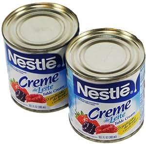 Nestlé - Table Cream - 10.1 fl. Oz. (PACK OF 02)   Creme de Leite - 300ml