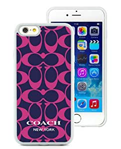 Unique iPhone 6/iPhone 6S TPU Case ,Hot Sale And Popular Designed Case With Coach 79 White iPhone 6/iPhone 6S Skin Cover Great Quality Phone Case