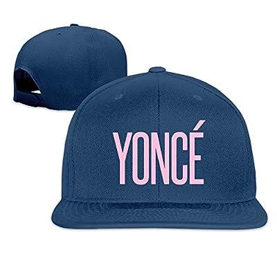 JUNJ Unisex Outdoor Sports Yonce Letter Element Sun Hat Caps Adjustable Flat Along Cap