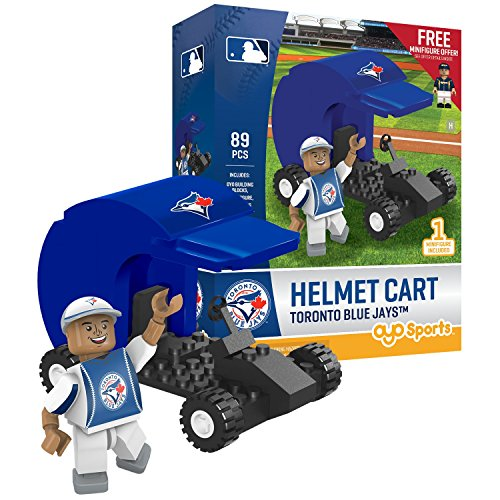 MLB Toronto Blue Jays Sports Fan Bobble Head Toy Figures, Blue/Red, One Size -