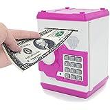 APUPPY Cartoon Password Piggy Bank Cash Coin Can,Electronic...
