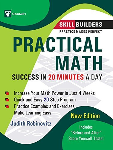 Practical Math: Success in 20 Minutes a Day by Judith Rohinovitz (2009-01-30)