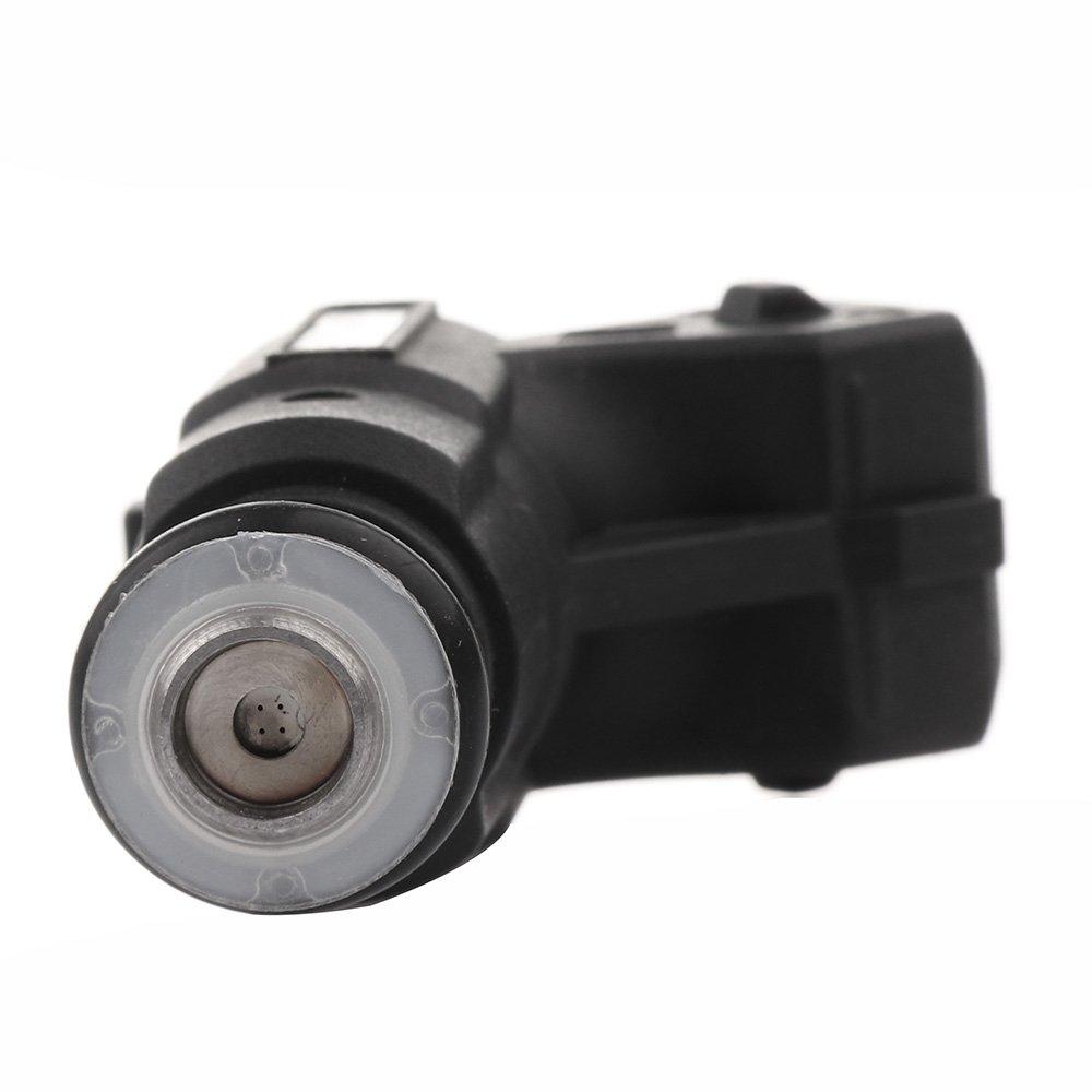 4 Hole Fuel Injectors Set fit for Cadillac Fleetwood,Chevrolet Impala Camaro Caprice Corvette,Pontiac Firebird,Buick Roadmaster 0280155731 Injector,8 Pieces cciyu Injectors