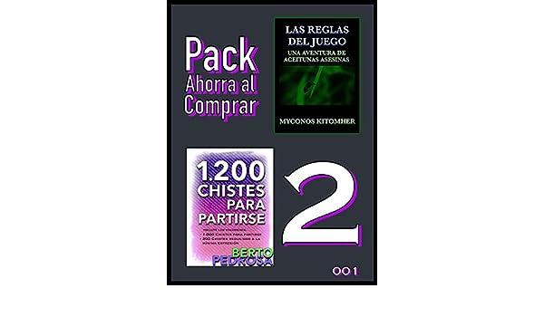 Amazon.com: Pack Ahorra al Comprar 2 - 001: Las reglas del juego: Una aventura de aceitunas asesinas & 1200 Chistes para partirse: La colección de chistes ...