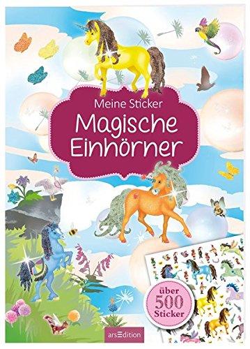 Meine Sticker: Magische Einhörner (Mein Stickerbuch) Taschenbuch – 14. Juli 2016 Maja Wagner arsEdition 3845815140 empfohlenes Alter: ab 4 Jahre