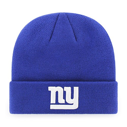 OTS NFL New York Giants Raised Cuff Knit Cap, Royal, Toddler