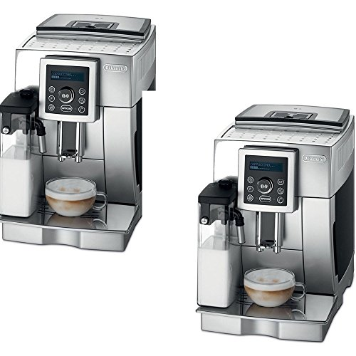 De'Longhi Stainless Steel Fully Automatic Espresso Machine - De'Longhi Model - ECAM23450SL - Set of 2 Gift Bundle