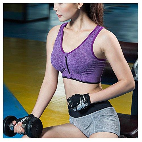 38bef829f3 Jock Underwear Athletic Lingerie Sport Bra And Underwear for women Running  Underwear Women s Athletic Form Fit Sweat Blocking Sports Bra BEHAPPY Brand   ...