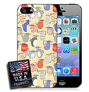 Cute Cats Pattern iPhone 5/5s Hard Case
