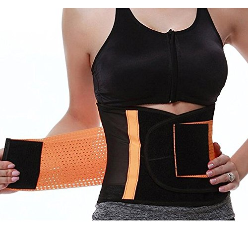 Lower Back Brace, Lumbar Support Protect Waist During Running, Heavy Lifting, Exercise, Golf for Women and Men, Elastic Waist Belt Black-L by ZSZBACE