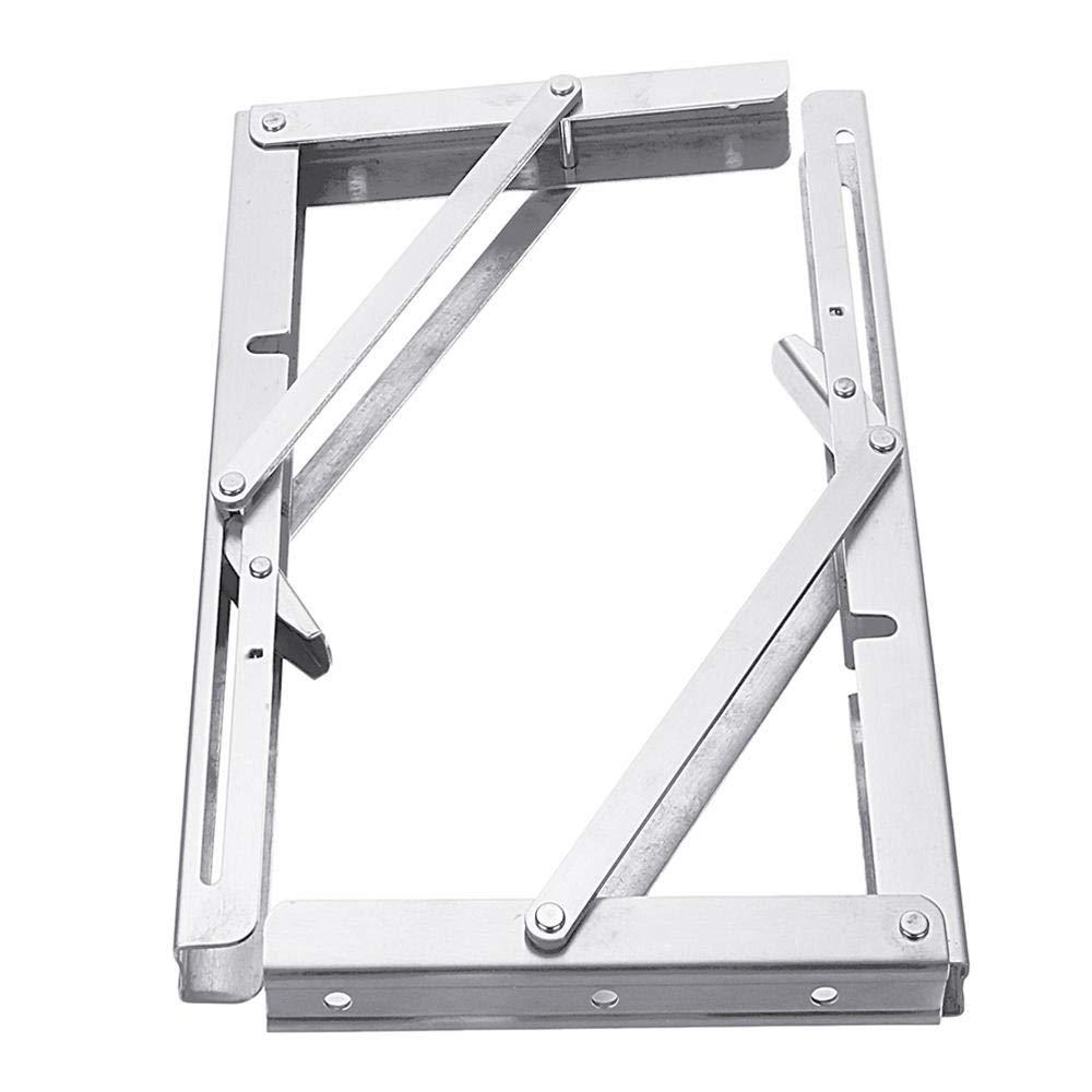 Anddod 2Pcs 8 10 12 14 16 Inch Folding Triangle L-Shaped Storage Shelf Support Bracket Stainless Steel B07Q5GZN5Y Klappmesser Trend