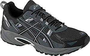 ASICS Men's Gel Venture 5 Running Shoe, Black/Onyx/Charcoal, 9 M US