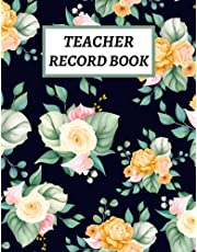 Teacher Record Book: Teacher Grade Book