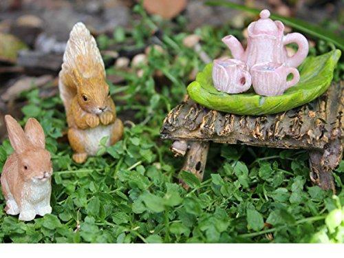 Pretmanns Fairy Garden Fairy Accessories – Miniature Fairy Figurine & Furniture – 14 Piece Starter Kit by Pretmanns (Image #4)