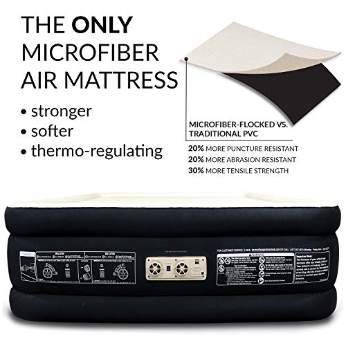 Queen Twin King Size Air Mattress Airbed with Built in ...