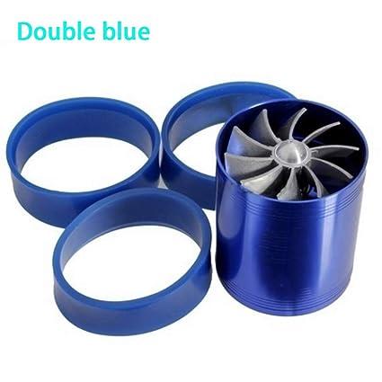 Amazon com: Supercharger Power Air Intake Turbonator Dual