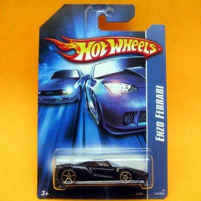 Hot Wheels 2006 Black Enzo Ferrari (194/223)
