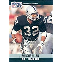 Marcus Allen Signed - Autographed Los Angeles Raiders Pro Set Football Card - Guaranteed to Pass Or JSA - PSA/DNA Certified