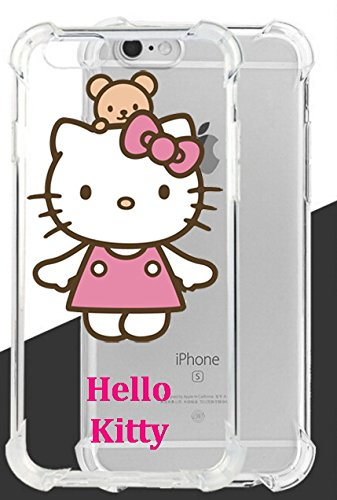 New Hello Kitty Ultra Clear Case Drop Proof And Shockproof Cover For Iphone 7
