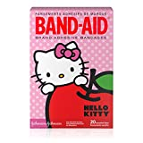 Band-Aid Brand Adhesive Bandages for Minor Cuts, Hello Kitty Characters, Assorted Sizes, 20 ct