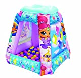 Shimmer and Shine Secret Genies Inflatable Playland with 50 Balls