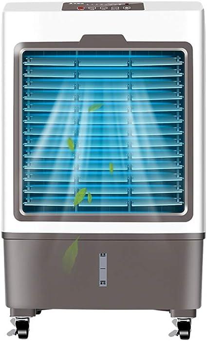 MAZHONG FANS Refrigerador de aire evaporativo portátil 3 en 1, humidificador industrial y purificador de aire, tanque de agua 20L: Amazon.es: Coche y moto