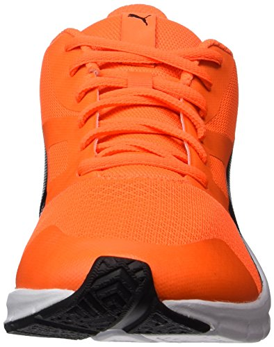 Puma Flexracer Sneakers Shocking black Unisex Erwachsene Orange Orange 6wBxE6rqv