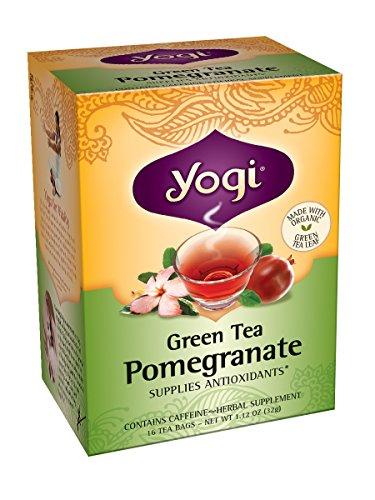 Йоги Гранат зеленый чай, 16 пакетиков (Pack 6)