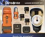 Samsonite Travel Plug Adapters and Luggage Accessory Set