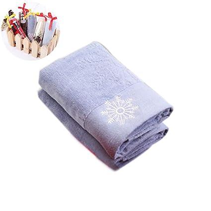 Soft bebé recién nacido toalla de cara de algodón orgánico toalla de la Navidad del bebé