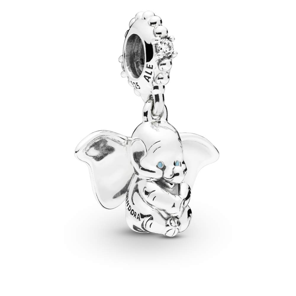 PANDORA Disney, Dumbo 925 Sterling Silver Charm - 797849CZ