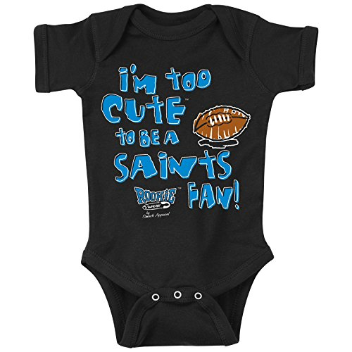 Smack Apparel Carolina Panthers Fans. Too Cute. Onesie (NB-18M) or Toddler Tee (2T-4T) (6 Month) -