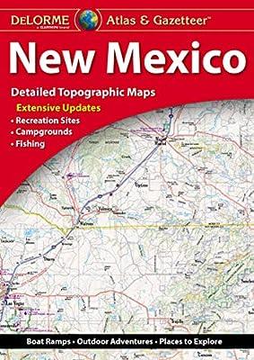 Delorme New Mexico Atlas Gazetteer Delorme 9781946494245