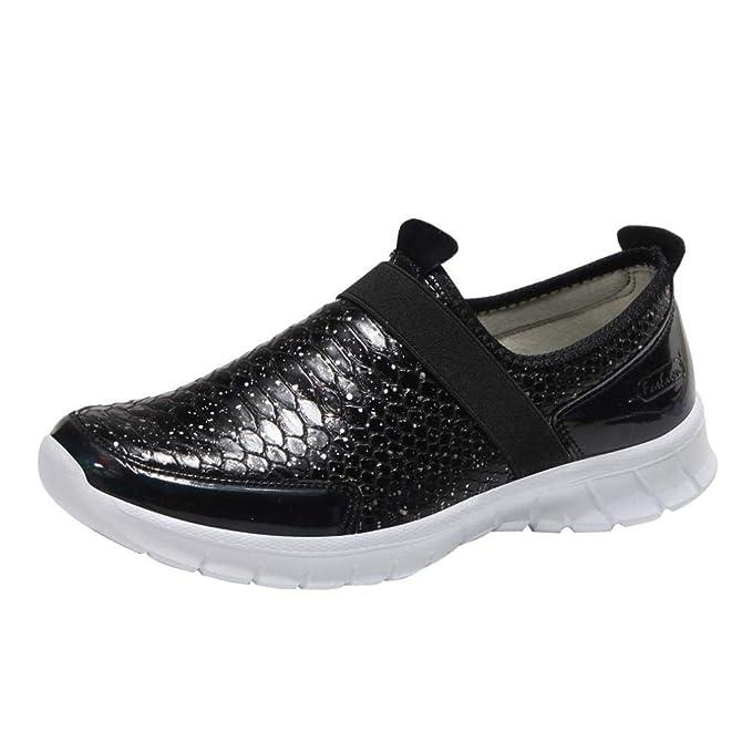 Naturazy De Verano Mocasines Moda Zapatillas Plataforma Casuales Zapatos Andar Planos Deportivos Ocio De Punta Redonda CóModos Aire Libre y Deporte: ...