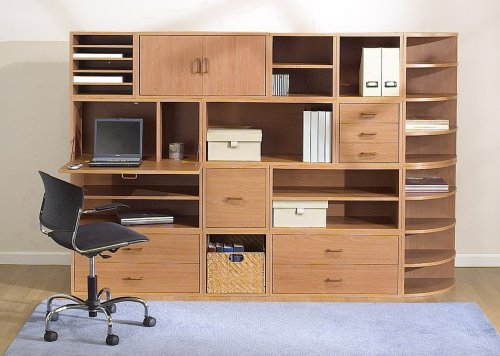 Foremost 327522 Modular Door Cube Storage System, Honey