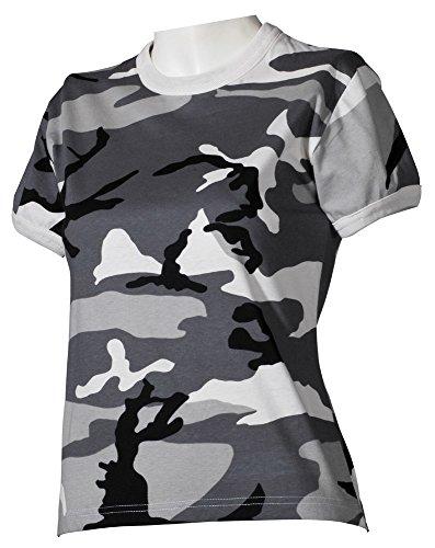 US T-Shirt, Damen, woodland, Größe M Urban