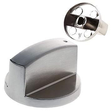 GROOMY 3 Estilos Cocina útil Estufa de Gas Cocina Horno Control Perillas giratorias: Amazon.es: Hogar