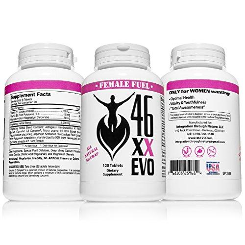 46XX Evo: Women's Vitality Supplement
