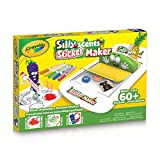 Crayola Silly Scents Sticker Maker, Holiday Kids, Age 3, 4, 5, 6