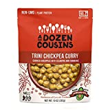 A Dozen Cousins Trini Chickpea Curry, Non-GMO, Made with Avocado Oil, Plant Based Protein, Ready to Eat, Shelf Stable, 6 Pack