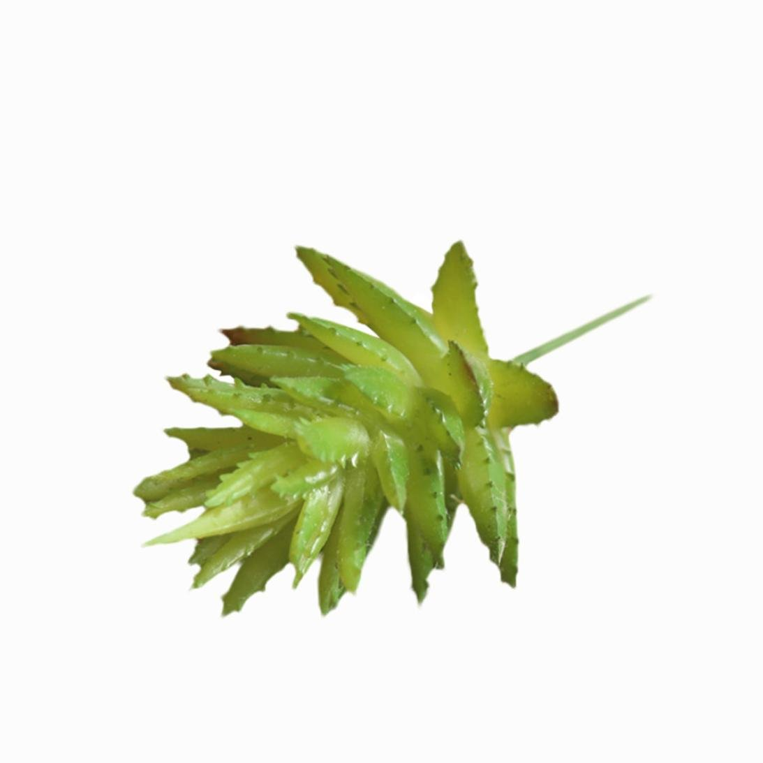 Artificial Flowers Clearance, Paymenow Fake Flowers Succulents Aloe Vera Floral Wedding Bouquet Party Home Garden Office Dining Table Decor (Green)