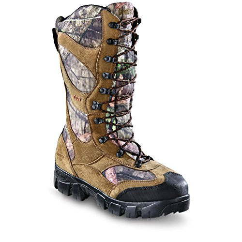 Cheap Guide Gear Giant Timber II Men's 1400 Gram Insulated Waterproof Hunting Boots Mossy Oak