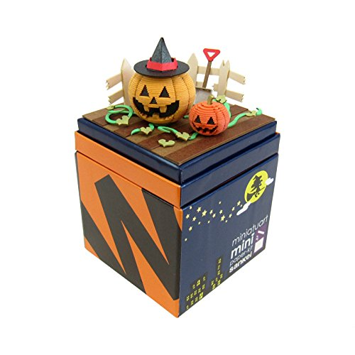 Miniature Art Halloween Pumpkin Patch Paper -