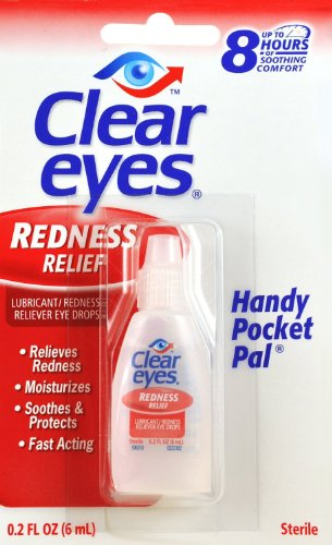 Yeux clairs Redness Relief Handy Pocket Pal, 0,2 Fluid Ounce (Pack de 4)