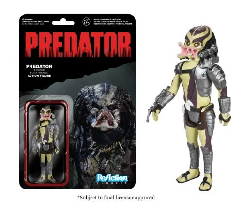 Predator Open Mouth Predator ReAction 3 3/4-Inch Retro Action Figure by Predator