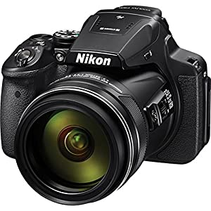 Nikon COOLPIX P900 Digital Camera 83x Optical Zoom, Built-In Wi-Fi, NFC, and GPS + Digital Camera Flash +Backup Battery + 2 Of 32GB Class 10 Memory Card + 67mm UV Protection Filter by TriStateCamera