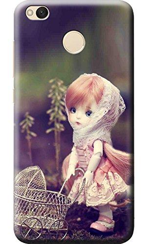 quality design 34bd7 b8b52 Fashionury Cute Doll Printed Soft Silicone Back Cover for Xiaomi Redmi 4