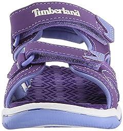 Timberland Adventure Seeker Two-Strap Sandal (Toddler/Little Kid),Purple/Periwinkle,6 M US Toddler