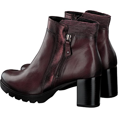 Gabor55.783.57 - Chaussures Basses Pour Femmes, Rouge (merlot (micro + Eff.)), 42